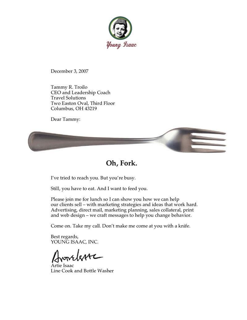 Fork letter
