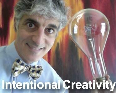 Creativity banner bulb