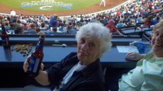 Jackie at Clippers 2011